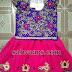 Pink and Purple Kundan Work Lehenga