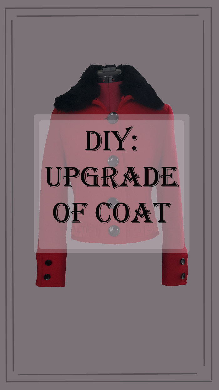 upgrade of coat