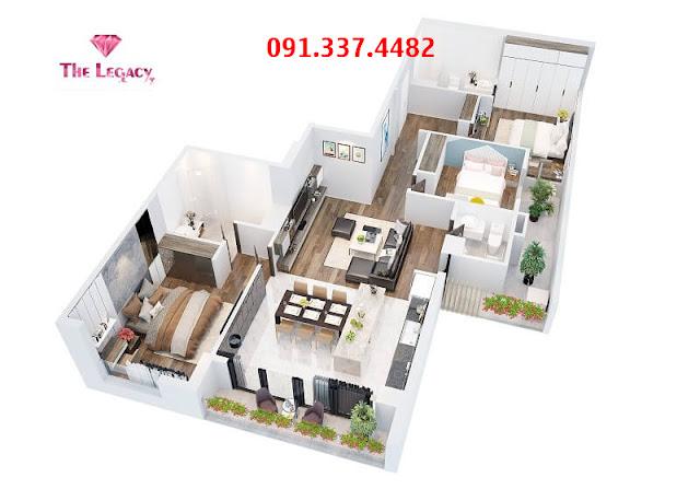 Chung cư The Legacy 106 Ngụy Như Kon Tum Lê Văn Thiêm mở bán căn hộ  dự án
