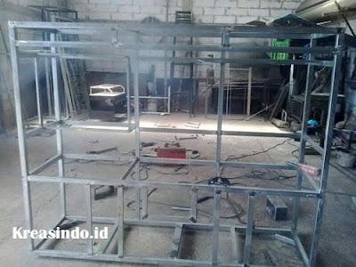 Jasa Pembuatan Gerobak Besi untuk jualan Bakso, Mie Ayam, Siomay atau Batagor