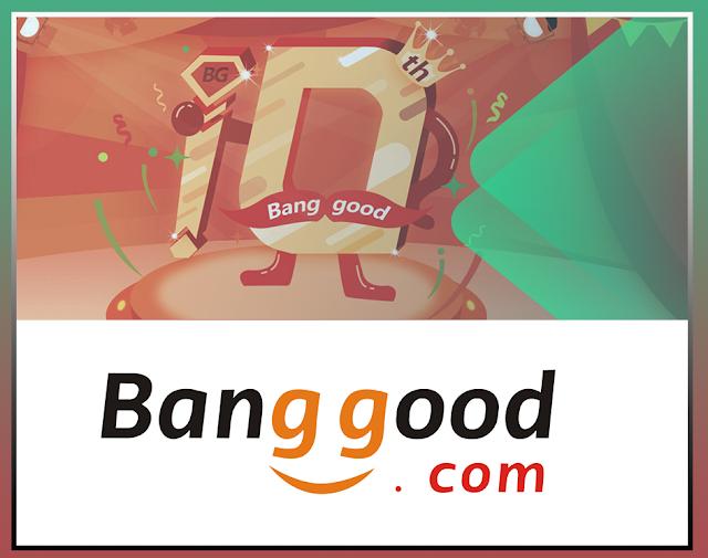 Banggood Comemora 10 anos e traz Descontos imperdiveis