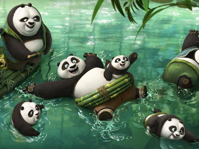 Po descoperă o comunitate de urşi panda ce trăiesc în secret.