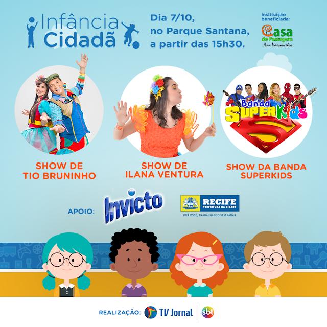 Infância Cidadã, promovido pelo Sistema Jornal do Commercio de Comunicação (SJCC)