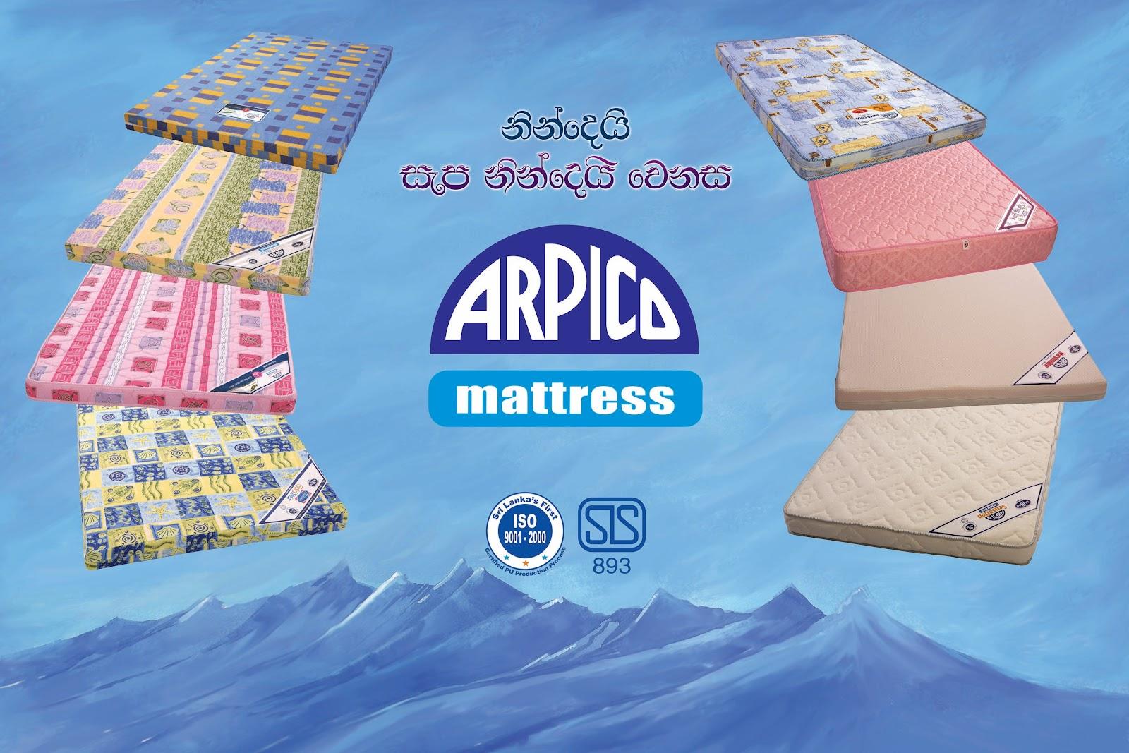 Arpico Mattress and PU FoamsSponge