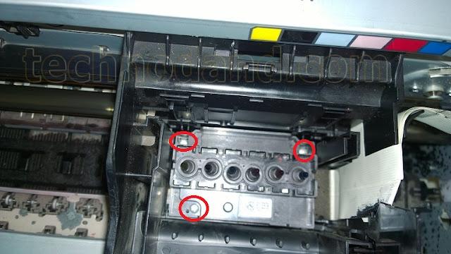 Cara Membongkar Print Head EPSON 1390