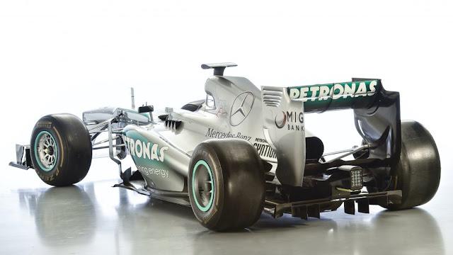 2013 Mercedes-Benz F1 Car - #Mercedes #F1 #motorsport