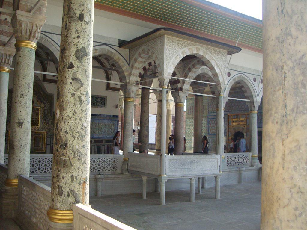 O que fazer em Istambul Palácio Topkapi