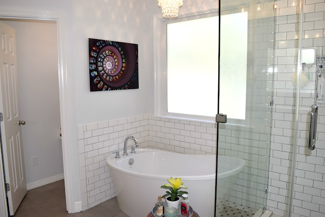Master Bathroom transformation - before and after pics you have to see to believe!