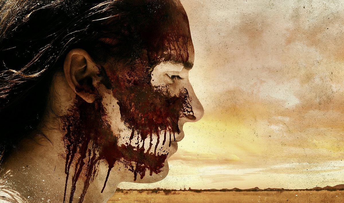 Nick lleno de sangre en el poster oficial de la tercera temporada de Fear The Walking Dead
