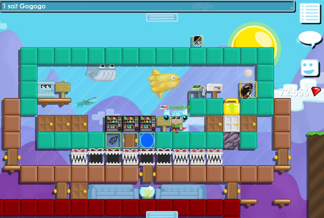 Cara Membuat Aquarium di Growtopia