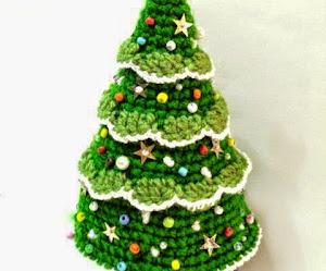 Super colección de Pinos Navideños al crochet