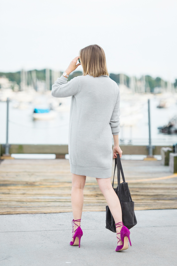 Garnet Hill sweater dress