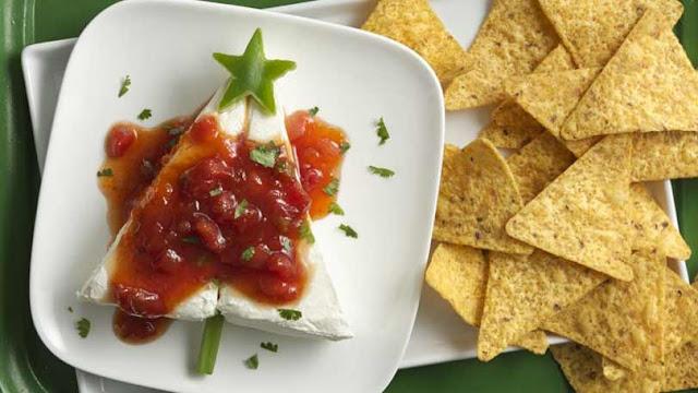 рецепт сыр сальса фасоль чипсы закуска