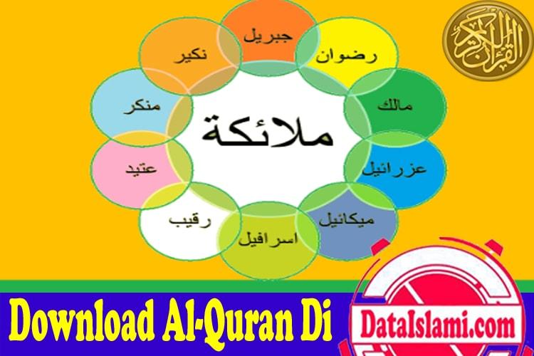 Nama Nama Malaikat Yang Wajib Diketahui Umat Islam Data Islami
