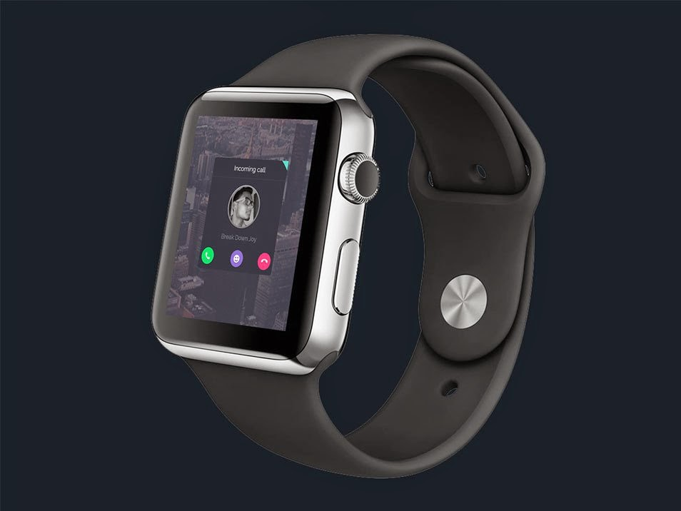 Free PSD Apple Watch