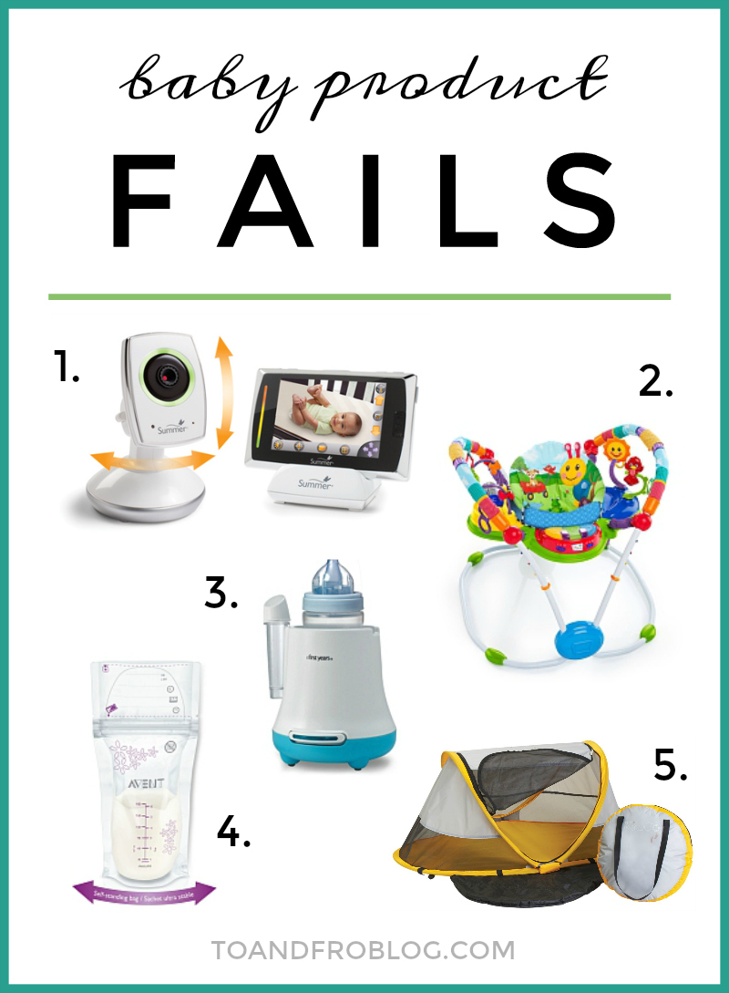 5 Baby Products I Wouldn't Recommend
