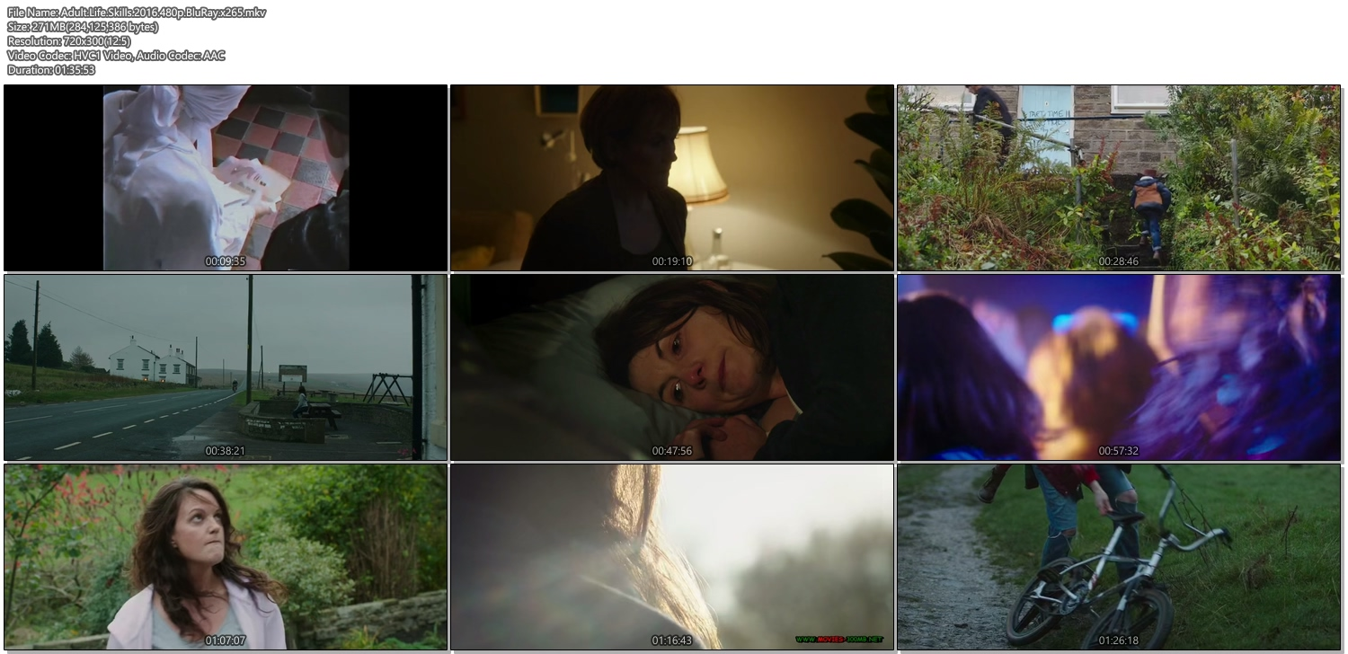 Adult Life Skills 2016 480p BluRay 270MB x265 Movie Screenshots