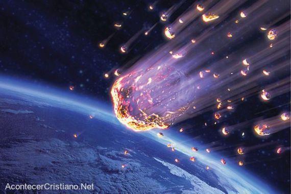Caída de meteoritos a la Tierra