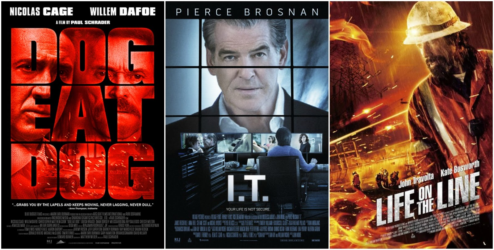 F This Movie!: Redboxing: Dog Eat Dog , I T  & Life on the Line