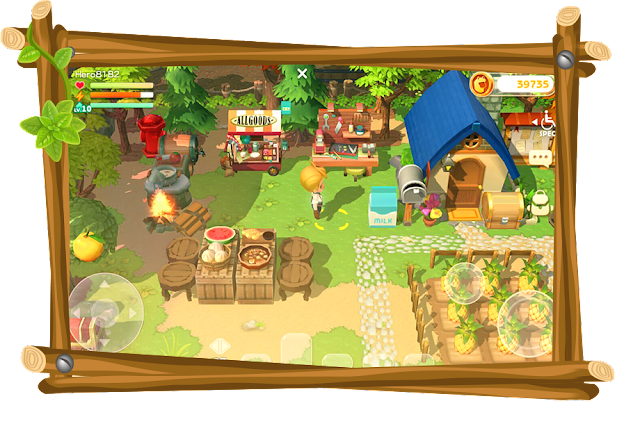 Nature Ville Game Simulasi Android Mirip Harvest Moon
