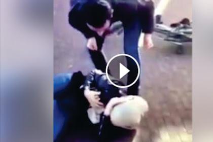 Beredar Video Muslimah Belanda Dihajar 2 Lelaki Hingga Tak Berdaya Setelah Uni Eropa Bolehkan Larangan Hijab