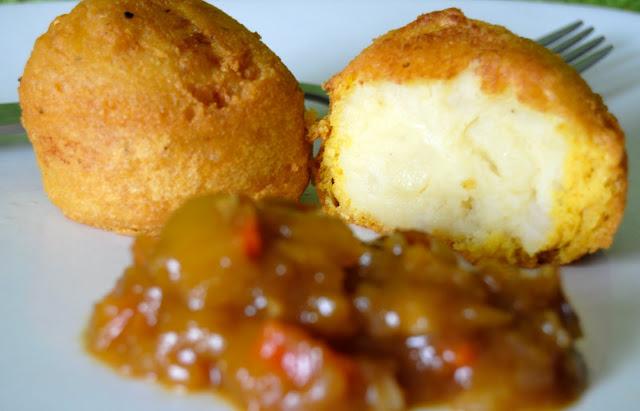 Buñuelos de Patata (Aloo Bhondi). Receta