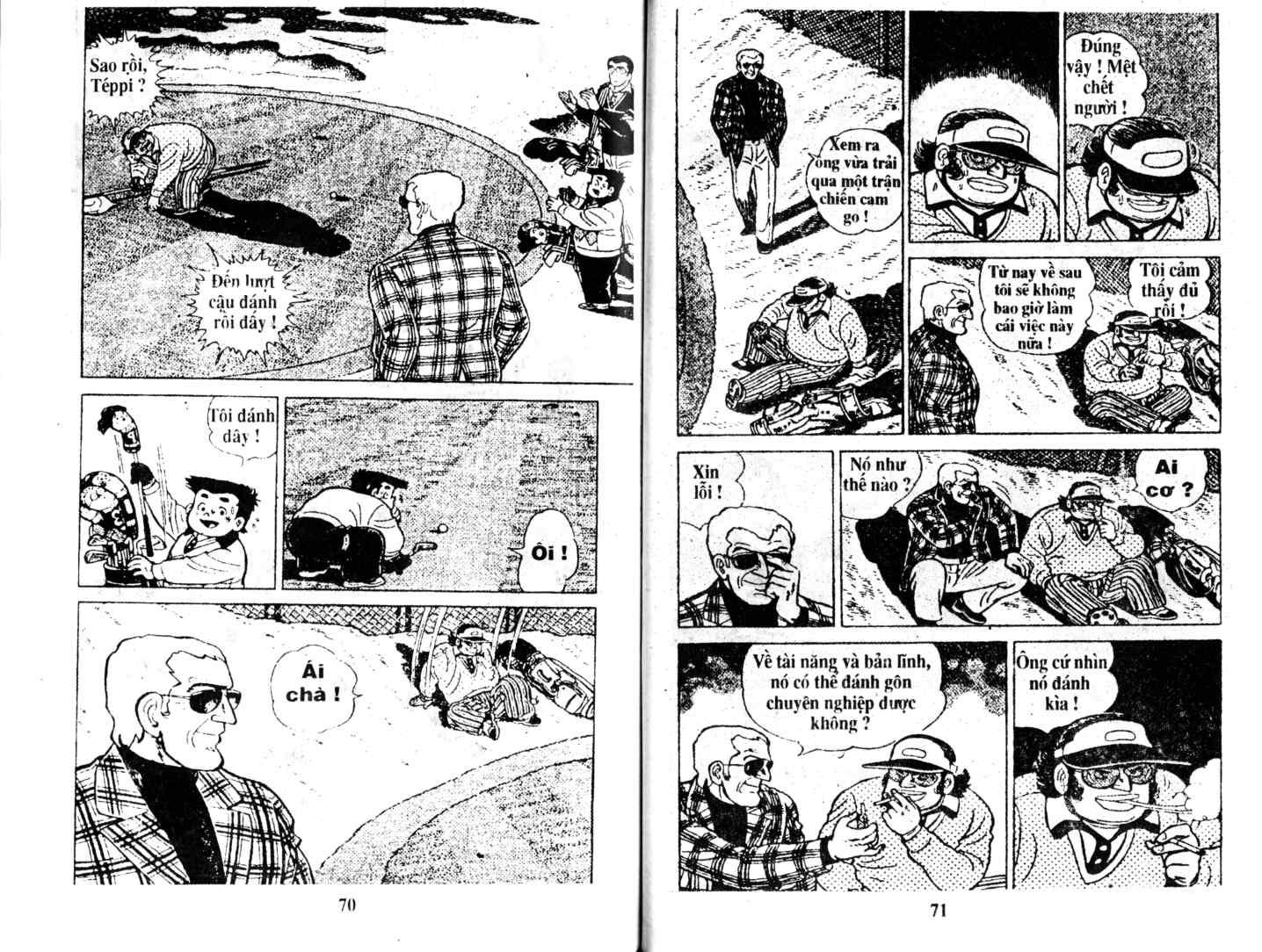 Ashita Tenki ni Naare chapter 14 trang 34