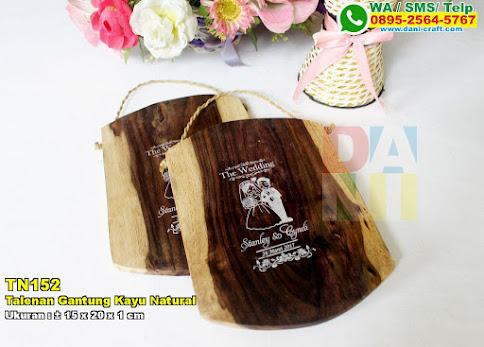 Talenan Gantung Kayu Natural