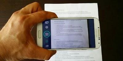 كيف تقوم بنسخ نص ورقي إلى هاتفك دون إعادة كتابته