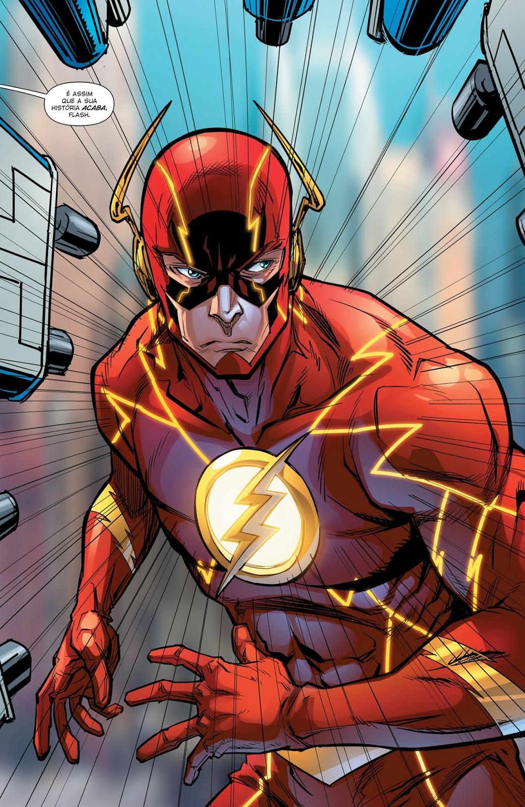 Os Novos 52! Flash #51 - Galxia dos Quadrinhos