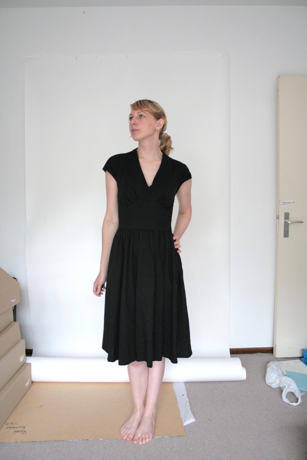 Finished Butterick 5209 Or The Little Black Dress Ren 233 E