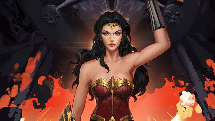 Wonder Woman, DC, Comics, Art, 4K, #6.1234