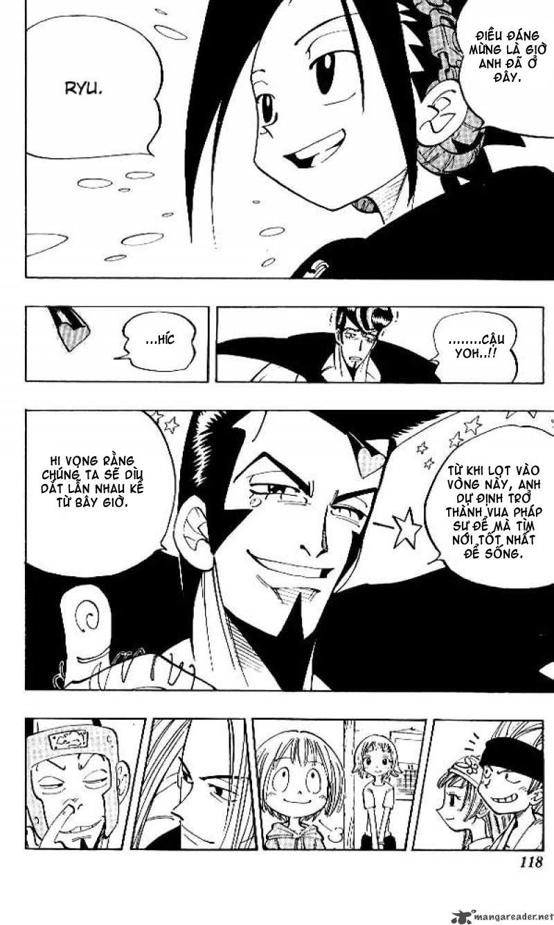 Shaman King [Vua pháp thuật] chap 68 trang 8