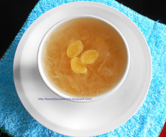 Snow fungus with gingko biloba recipe- Asian beauty food secret