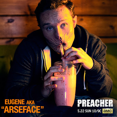 Preacher Teaser One Sheet Television Poster -  Ian Colletti as Eugene (aka Arseface)