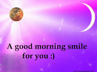 A good morning smile 4 u :)