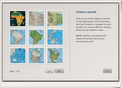 """National Geographic Atlas Puzzles"""