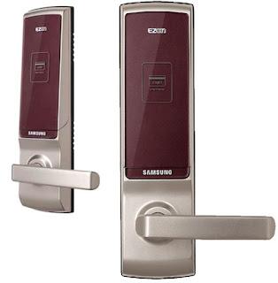 Công dụng bảo vệ an toàn của Khóa cửa điện tử Samsung