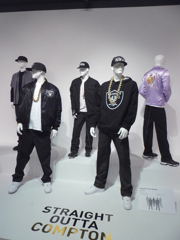 Original Straight Outta Compton film costumes