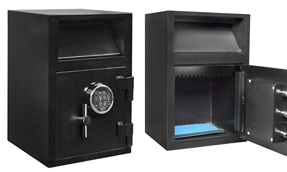 Stealth Drop Safe Front Load Depository Vault Electronic Lock Cash Storage DSF2114 (Certified Refurbished)