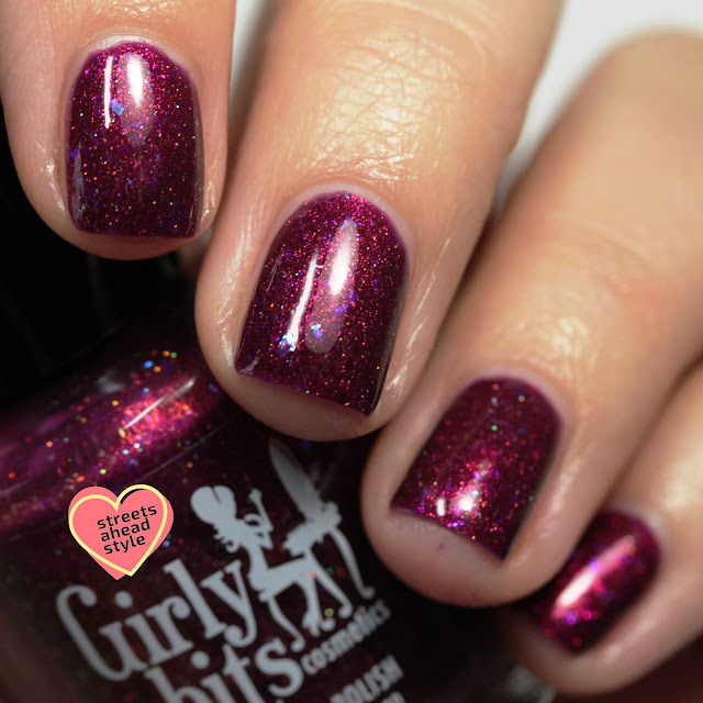 Girly Bits My Name Is Elizabeth swatch by Streets Ahead Style