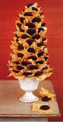 25 Ideias de Árvores de Natal Comestíveis
