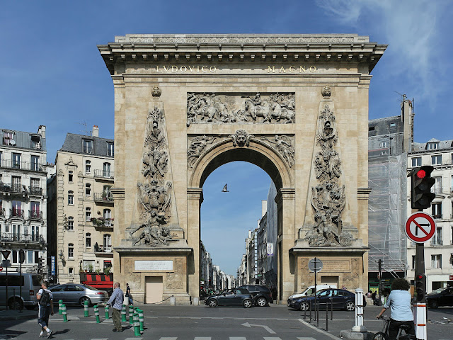 Brama św. Dionizego w Paryżu