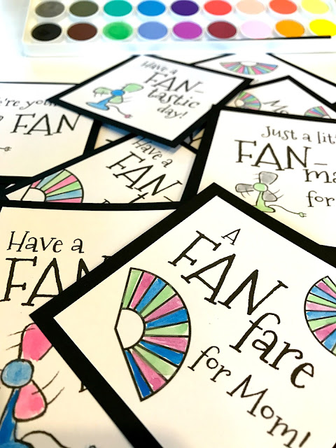 Printable fan puns