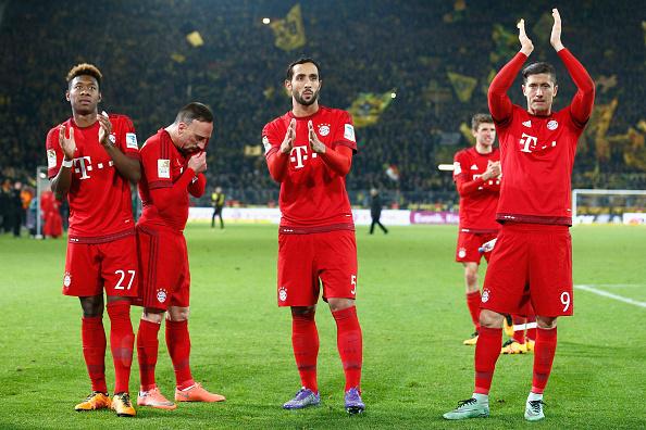 Em jogo truncado, Bayern e Borussia empatam