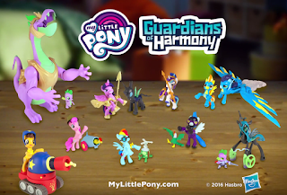 MLP Guardians of Harmony Action Figures Commercial