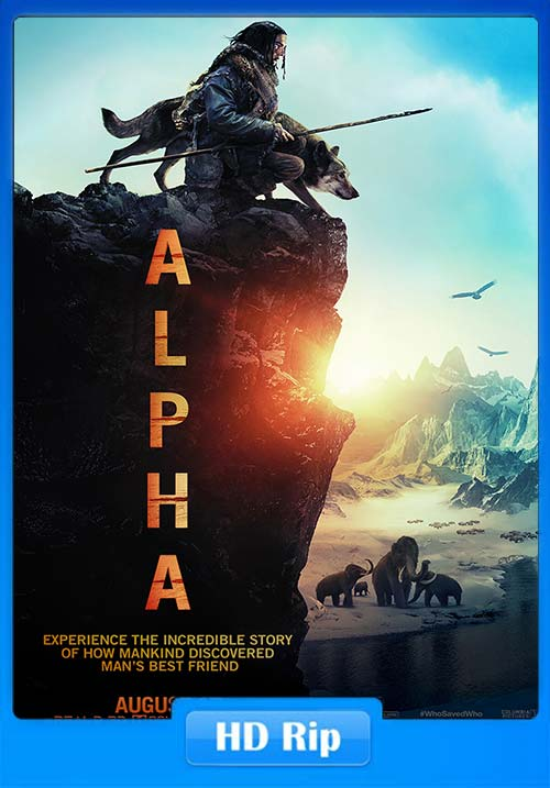 Alpha 2018 720p BDRip Hindi Tamil Telugu Eng ESub x264 | 480p 300MB | 100MB HEVC