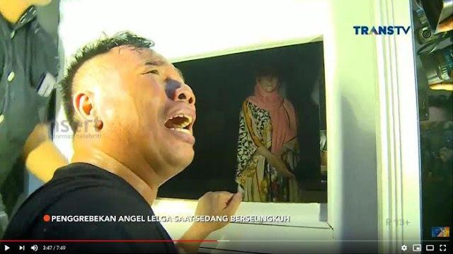 Angel Lelga Digerebek Jam 2 Pagi di Rumahnya, Vicky Prasetyo: Allah Tunjukkan Perzinaan Mereka