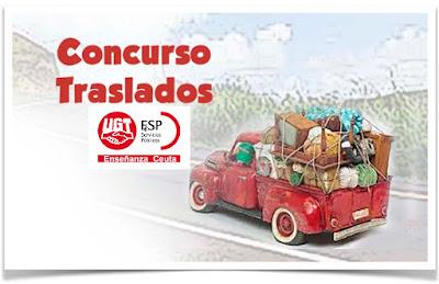Resolución definitiva del Concurso de Traslados 2019, Enseñanza UGT Ceuta, Blog de Enseñanza UGT Ceuta