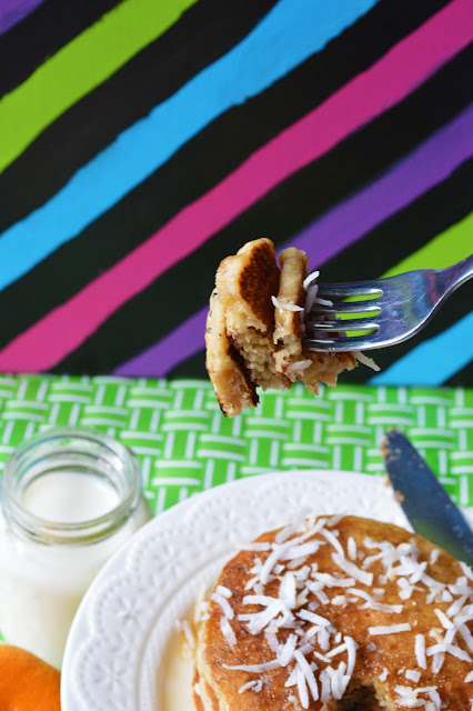 Vegan Coconut Milk Pancakes